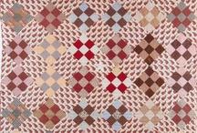 Antique quilts: Squares / Старинные квилты: квадраты