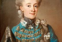 XVIII robe a cheval/militaire / suknia i żakiet do jazdy konnej, polowania, mundorowy riding dress