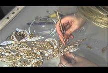 Люневильская вышивка крючком