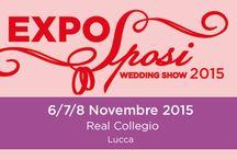 Expo Sposi 2015 / La Expo Sposi rappresenta un appuntamento immancabile per tutte le coppie di fidanzati che vogliono organizzare il loro matrimonio.