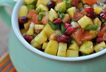 Salads and salsa