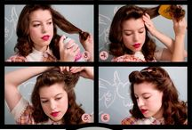 1940's hair and makeup