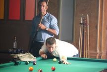 Famous billiard players