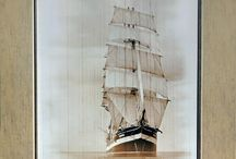 Nautical Decor, Wall Art, Sea life, Art Print / Sea around you