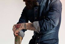 Beards And Tattoos / by Brandon Clifford