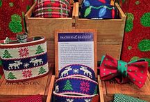 Christmas at Bowties.com / Come see us in the factory - at 212 Main Street, Fort Mill, SC 29715. Full catalog at http://www.bowties.com