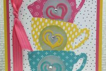 Stampin' Up! - Have a Cuppa / Stampin' up stamp set and card design