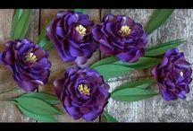 Rózsák papírból, selyemből