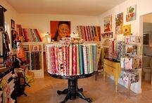 Sewing Studio Inspiration / My dream shop!