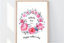 Mother's day gift ideas by Printpepperly