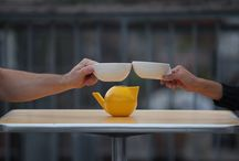 T.4.2. / A tea set for two where both cups embrace the teapot is our tribute to conversation.