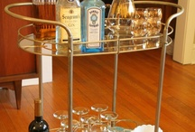 bar cart obsession / by Jacquelyn Del Rio