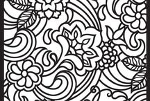 Big Kid Coloring Pages / Let's be honest... Sometimes our inner five-year-old comes out and just want to color...  / by Marisa Komosinski