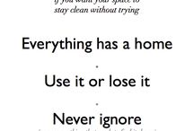 house cleaning inspiration