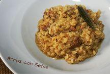 Recetas de pasta / Recetas de cocina fácil de pasta y arroces para toda la familia.