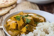 entrees / main dishes - indian