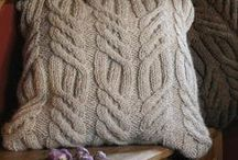 Knit Pillow Case