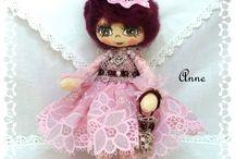 Poupées de collection / poupées de collection entièrement fait main avec certificat d'authenticité