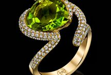 Our Designs Featuring Peridot / A Collection of Unique Hand Made Designs That Feature Peridot.