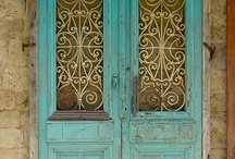 DOORS / Beauty in new and weathered craftsmanship / by Ilene Whitehead