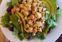 #tourdelicious salads