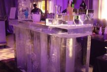 Ice Sculptures / Inspiration for wedding ice sculptures or for any type of event