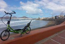 ElliptiGO Canarias y sus paisajes