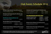 Event Schedule 2016
