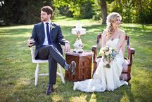 Vintage Wedding Ideas / One-of-a-kind finds for the shabby-chic bride. / by Weddingbells