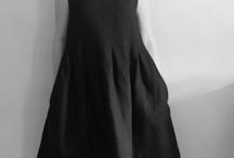 Linen dress shapes