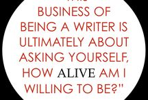 On Writing, Well or Otherwise / I'm a writer. It's a struggle. Wise words help.