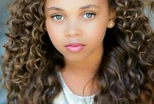 mixed raced child