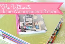Organizational binders / by Angie Hulette