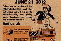 Go Skate Day 2012  / by HoodieBuddie
