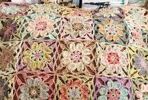 Crochet, squares