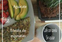 Healthy Food / Ejemplo de platos saludables