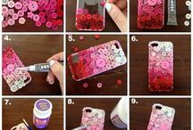 D.I.Y phone cases