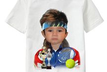 Get Sporty! / Personalized T-shirts for kids and adults