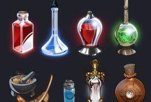 frascos alquimia