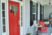 red and black outdoors