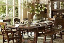 Dining room ideas / by Carol Schiller