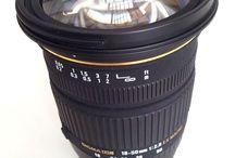 Obiektyw Sigma 18-50 mm / Obiektyw Sigma 18-50 mm EX Macro
