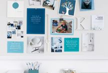 Home - Office Work Space / Ideas to make a beautiful and functional home office. / by A Life In The Making