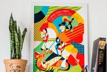LOJINHA • STORE / Coleção de pôsteres da lojinha da Borogodó vem ver! loja.tenhaborogodo.com.br