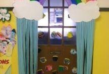decoración del aula