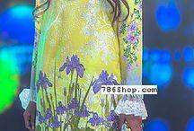 Rungrez / Rungrez Pakistani Lawn and Chiffon dresses.
