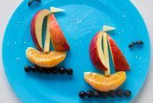 kreatív ételelrendezések gyerekeknek