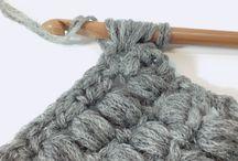 編み物や毛糸遊び