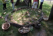 Outdoor natural learning spaces