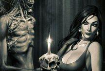 Dark and Horror Art